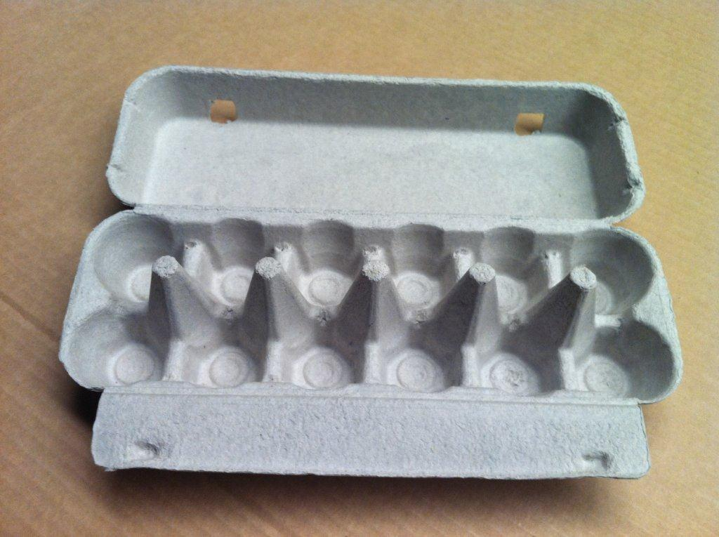 Egg Cartons 1doz Plain Flat Top Crt Of 130