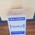 t chest twin Cussion corrugated cardboard