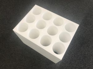 12 Bottle foam insert divider