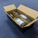 wine bottle divider, cardboard wine packaging Adelaide
