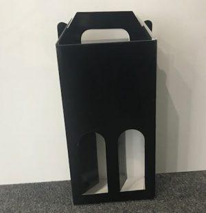 2 Bottle wine carry box