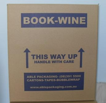 book wine moving boxes