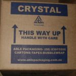 crystal carton