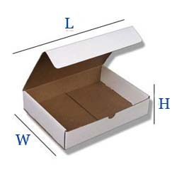 Die cut box cardboard adelaide unbranded shipper box custom boxes recycled cardboard environment