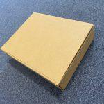big mailer box, brown cardboard