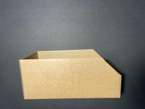 cardboard tote box