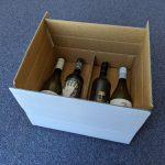 4 Bottlw Wine Carton Box White Adelaide Produced