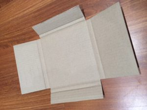 shipping record - vinyl record mailer - small cardboard boxes