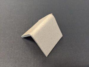 Brown cardboard strapping corner
