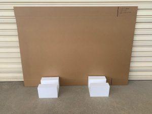 large tv box. artwork boxes. large boxes
